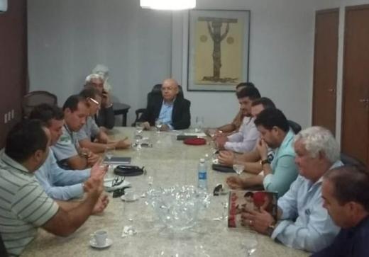 Dirigentes das associações de militares estaduais  se reuniram com Governo do Estado nessa segunda, 7
