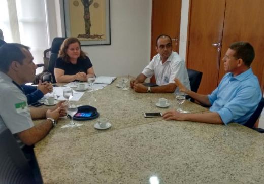 Associações se reúnem com secretaria-chefe do Gabinete Civil do Governo do Estado
