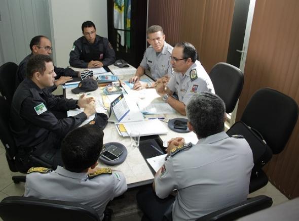 Associações de Praças realizam reunião com o comandante da PMRN