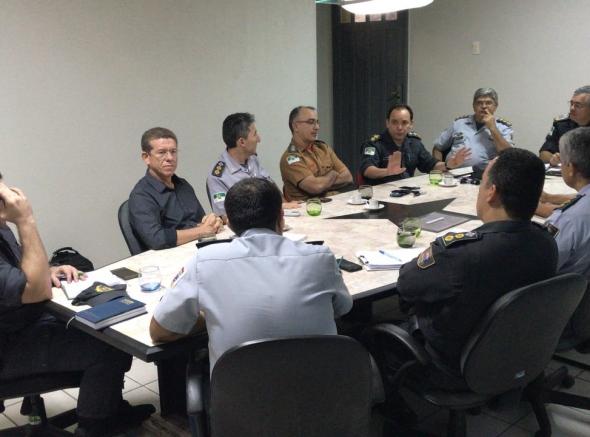 Em reunião com o Comandante-Geral, associações acompanham andamento das demandas dos militares estaduais