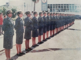 Primeira turma de Policiais Militares Femininas do RN completa hoje 23 anos de formação
