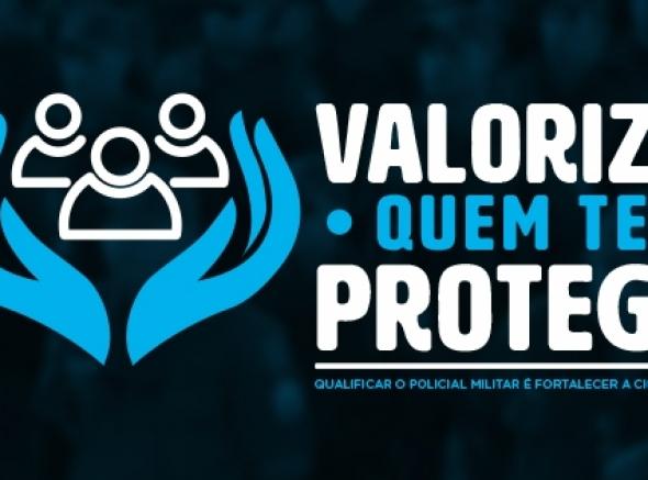 ASSPMBMRN realiza campanha para valorização do policial e bombeiro militar