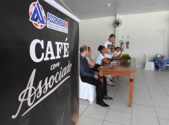 ASSPMBMRN realiza a primeira edição do Café com Associado