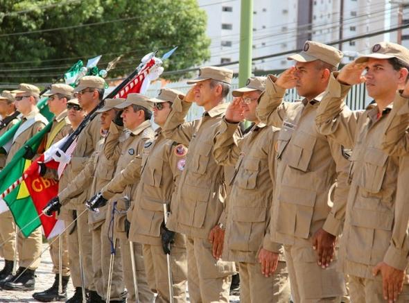 Corpo de Bombeiros Militar do RN promove solenidade alusiva ao centenário da Corporação