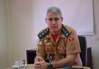 Comandante do Corpo de Bombeiros do RN é exonerado