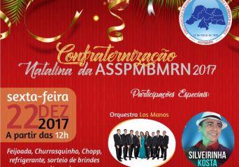 Associação realiza confraternização natalina na sexta (22)